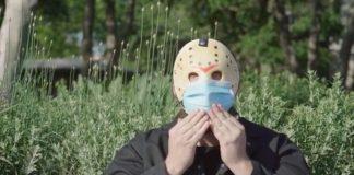 friday the 13th jason voorhees coronavirus face mask psa-min
