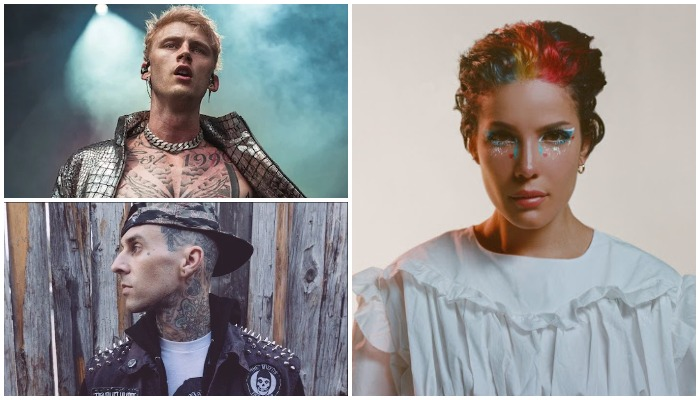 Does Halsey have a collab with MGK and Travis Barker on the way?