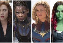 marvel superheroines