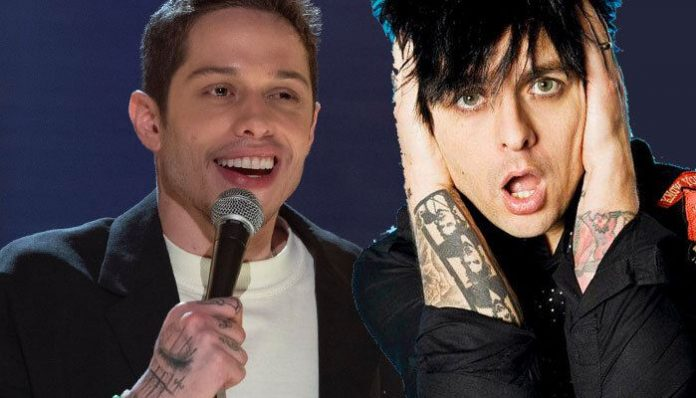 jokes about musicians bands pete davidson green day