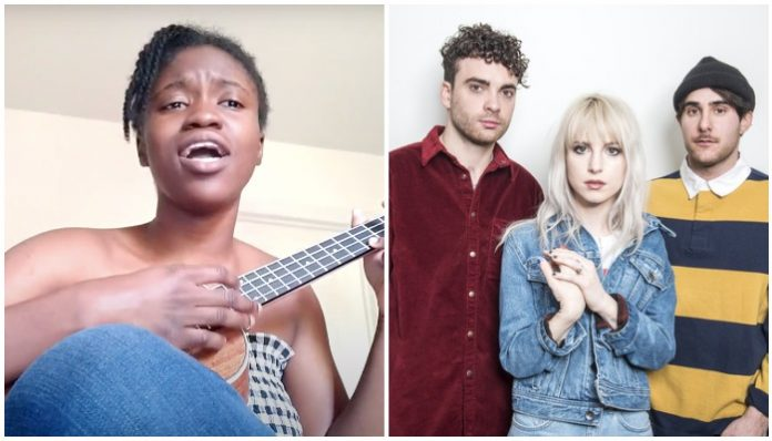 paramore hard times blm cover hayley williams