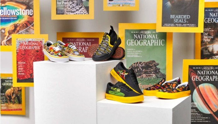 Vans x National Geographics collection