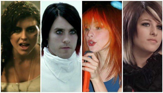 2000s scene hair trends