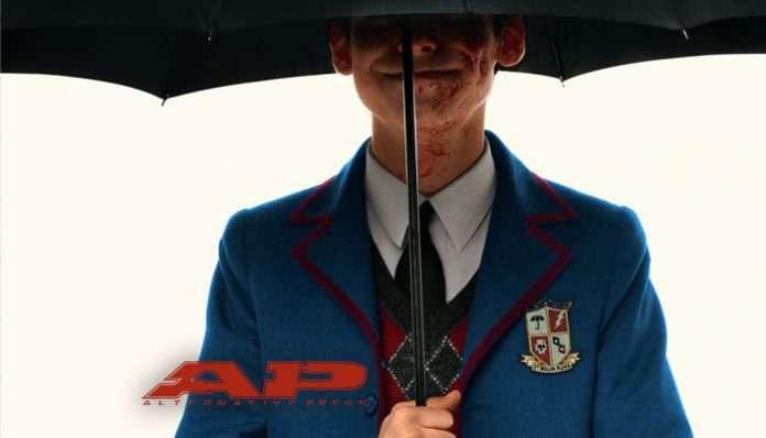 the umbrella academy season 2 magazine cover