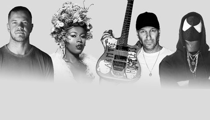 """Tom Morello, Dan Reynolds and friends demand that you """"Stand Up ..."""