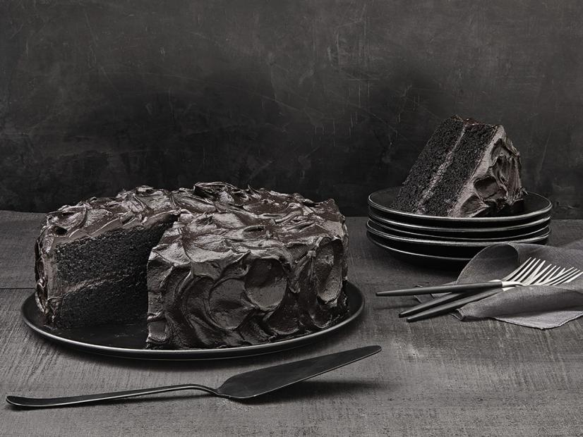 black cake goth baking recipes