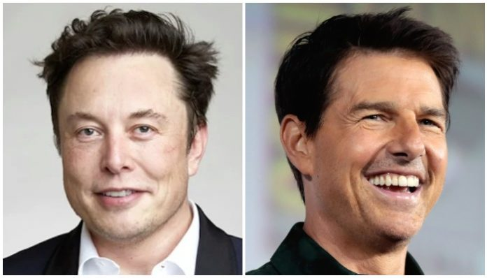elon musk tom cruise space movie
