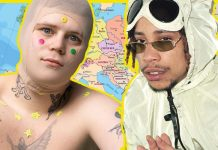 european emo rap yung lean green montana