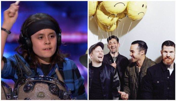 fall out boy americas got talent cover