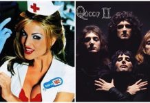 queen ii blink-182 enema of the state classic album covers