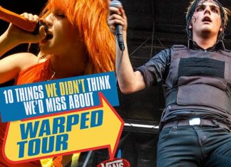warped tour experience