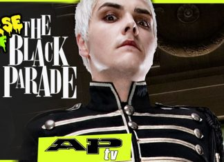 MY CHEMICAL ROMANCE THE CURSE OF THE BLACK PARADE