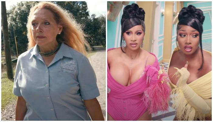 Carole Baskin Criticizes Cardi B And Megan Thee Stallion S Wap Video