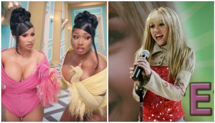 Hannah Montana Megan Thee Stallion Cardi B WAP TikTok