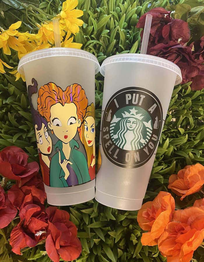 This Hocus Pocus Starbucks Cup Will Get You Into The Halloween Spirit