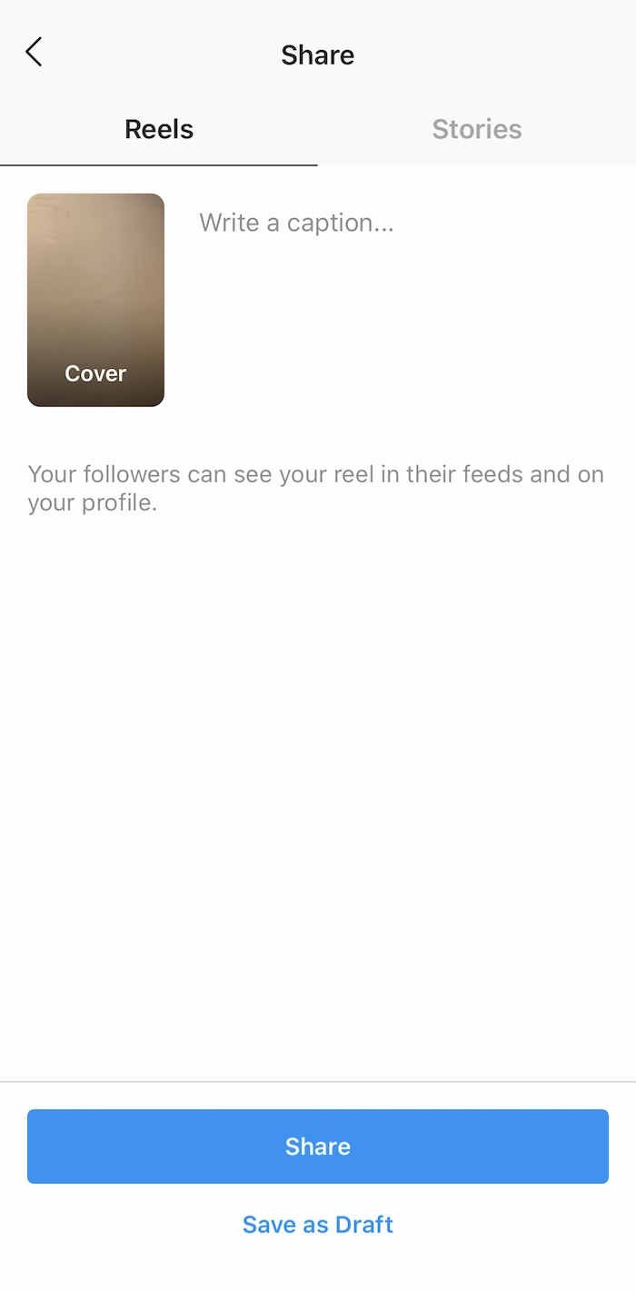 how to post on Instagram reels