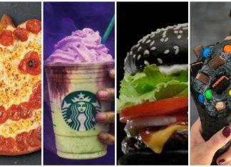 halloween fast food items