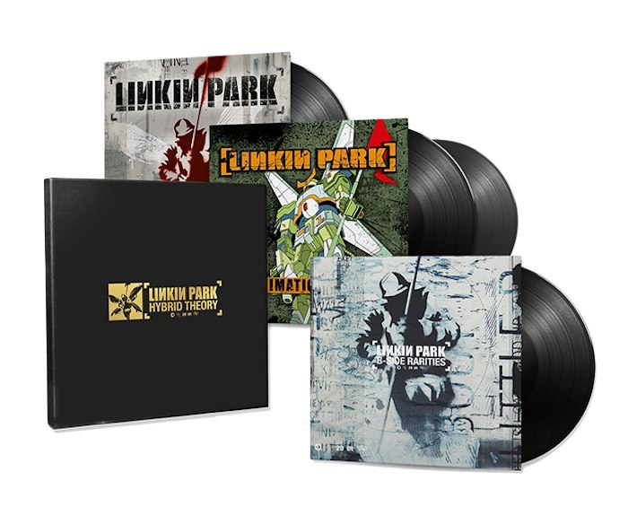 linkin park vinyl set
