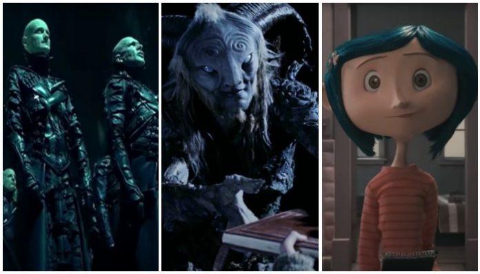 Tim Burton movie alternatives Pan's Labyrinth Dark City Coraline