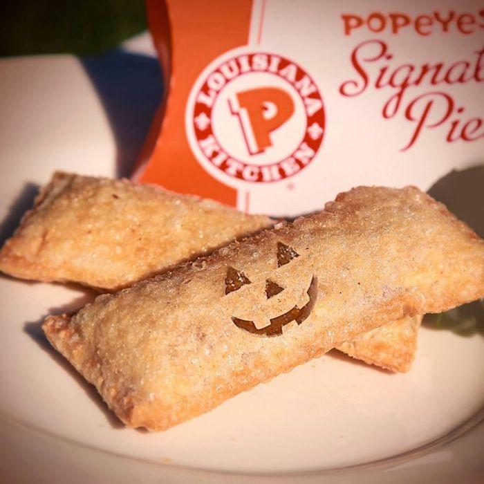popeyes pumpkin pie