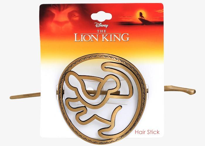 Disney The Lion King Simba bun pin 90s merch
