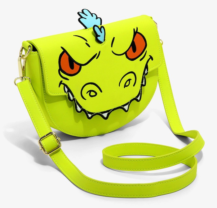 Loungefly Rugrats Reptar crossbody bag 90s merch