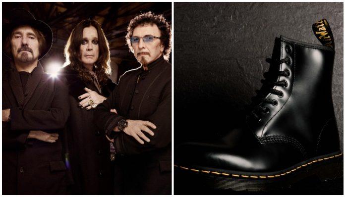 Black Sabbath Dr Martens