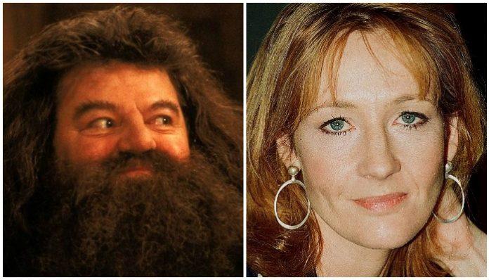 Harry Potter Hagrid Robbie Coltrane J.K. Rowling