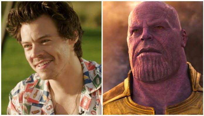 Harry Styles Thanos Marvels Eternals