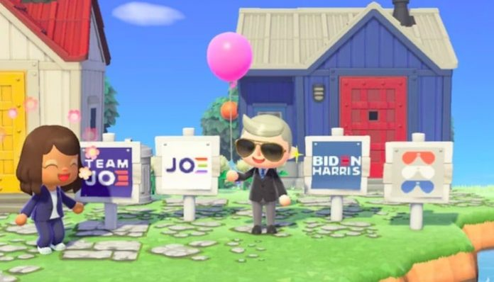 Joe Biden Kamala Harris Animal Crossing-min