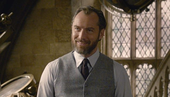 Jude Law Dumdledore HBO Max Fantastic Beasts-min