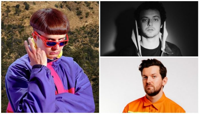 Oliver Tree, grandson and dillon francis