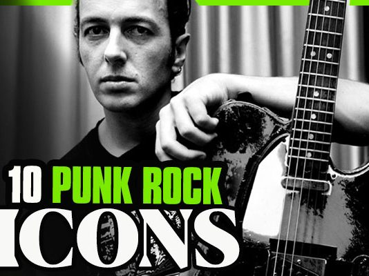 PUNK-ROCK ICONS