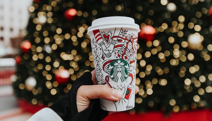 The Christmas countdown has begun with Starbucks' new ...
