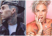 Travis Barker Mod Sun Famous Stars and Straps