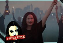 Evanescence Amy Lee Use My Voice HeadCount voter registration