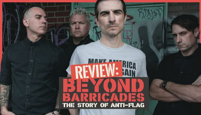 Anti-Flag Beyond Barricades documentary review 2020