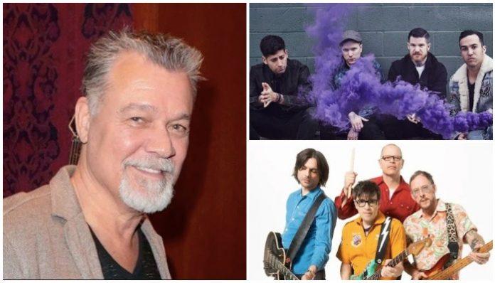 Eddie Van Halen Weezer Fall Out Boy