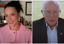 Halsey Bernie Sanders