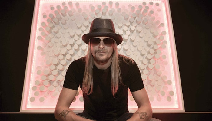 Kid Rock going mask-less at the presidential debate went as you'd expect