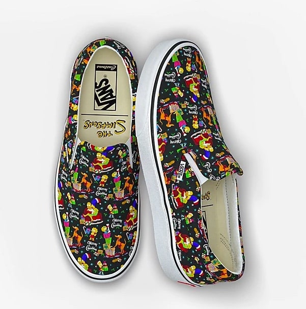 Simpsons Holiday Vans 2