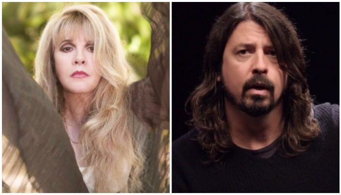 Stevie Nicks Dave Grohl