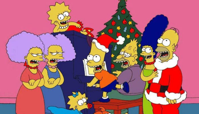 Vans x The Simpsons holiday print-min