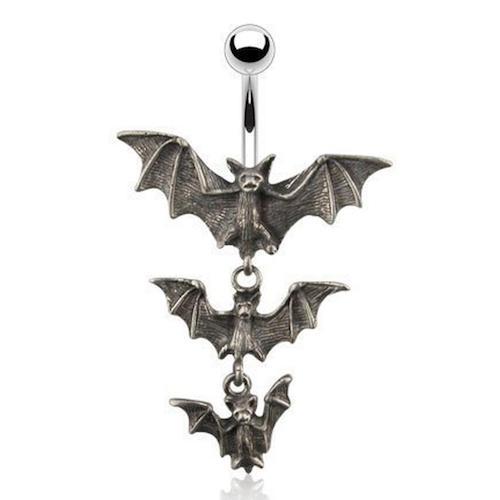 bat ring halloween jewelry