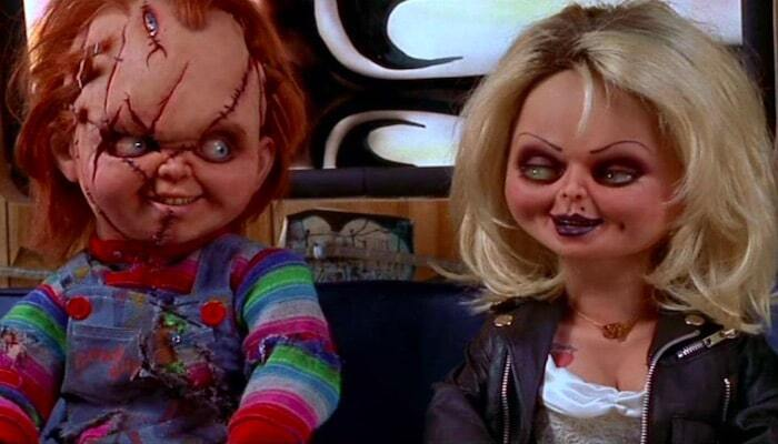 Tiffany's original 'Bride Of Chucky' look had a nod to another horror film