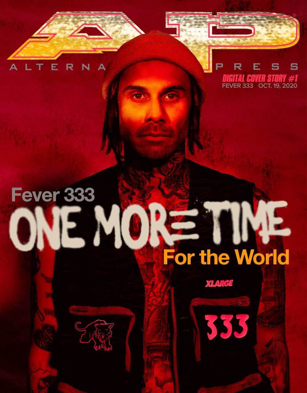 fever 333 digital cover story cover