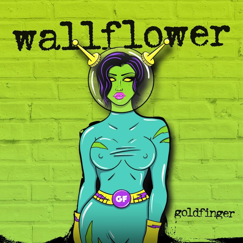 goldfinger wallflower artwork