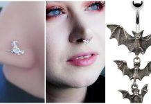 halloween body jewelry
