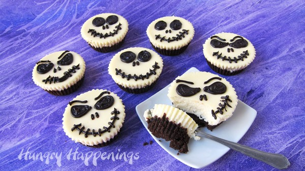 halloween recipe jack skellington cheesecakes