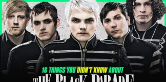 my chemical romance the black parade facts